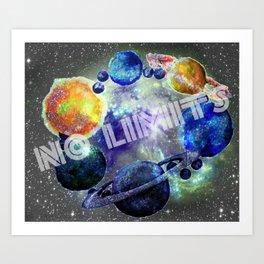 No Limits Art Print