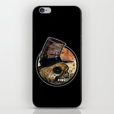 Skull in a Top Hat iPhone & iPod Skin
