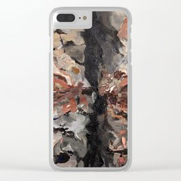 Skip Divided Clear iPhone Case