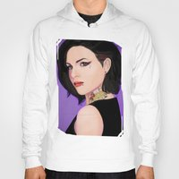 regina mills Hoodies featuring Fierce Regina Mills. by tantoun