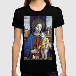 Ambrogio Bergognone Madonna and Child T-shirt