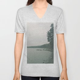 Misty Morning Unisex V-Neck