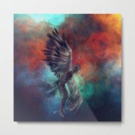 Cosmic Wings Metal Print