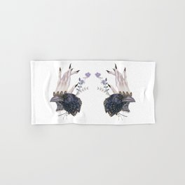 Raven Familiar Hand & Bath Towel