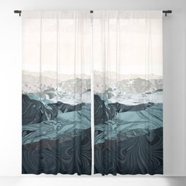 Empty Abstract Landscape Blackout Curtain