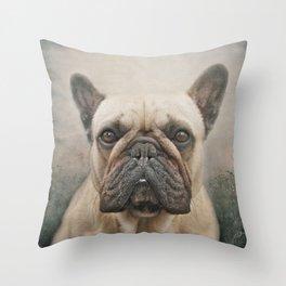 The face of a dreamer...! Throw Pillow