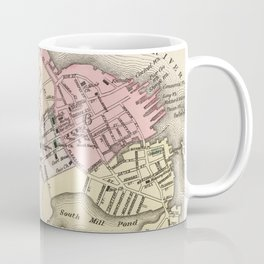 Vintage Map of Portsmouth NH (1877) Coffee Mug