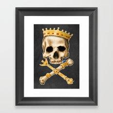 Forever King Framed Art Print