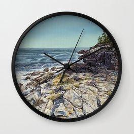 Maine Coast Wall Clock