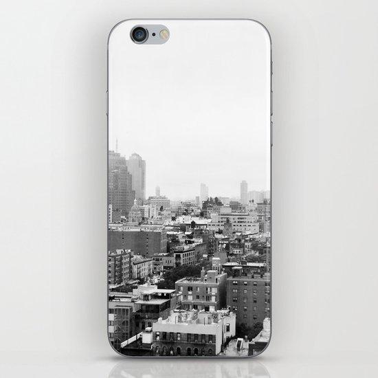 Lower East Side Skyline #3 iPhone & iPod Skin