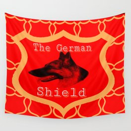 The German Shield Wall Tapestry