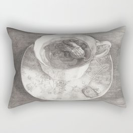 Teacup Octopus Rectangular Pillow