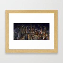 Villain's Lair Framed Art Print