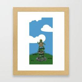 Yertle The Turtle Framed Art Print