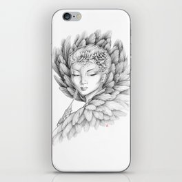 Winter Raven iPhone Skin