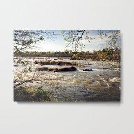 Spring River Metal Print
