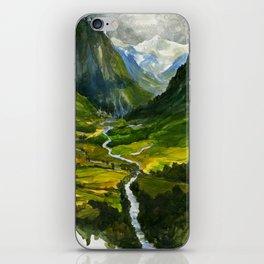 The Hidden Valley (original) iPhone Skin