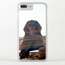 Great Sphinx of Giza, Cairo, Egypt Clear iPhone Case