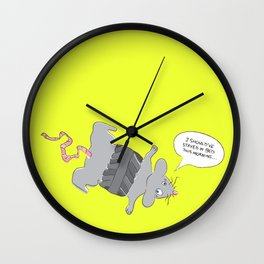 I should've stayed in bed... Wall Clock