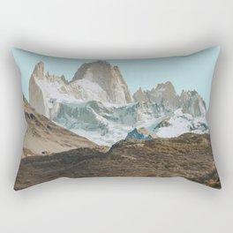 El Chalten, Argentina Travel Artwork Rectangular Pillow