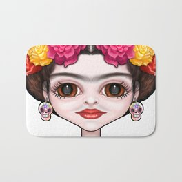 Frida's Flowers Bath Mat