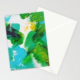 Summer Park Splatter with blur Stationery Cards