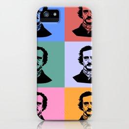 Edgar Allan Poe, Vintage iPhone Case