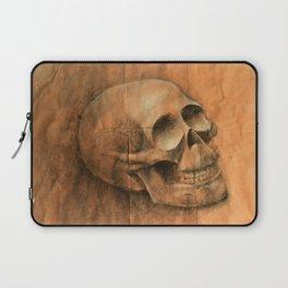Skull Sketch Laptop Sleeve