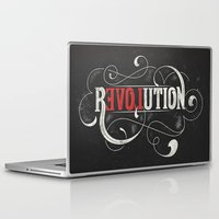 revolution Laptop & iPad Skins featuring Revolution by Mobe13
