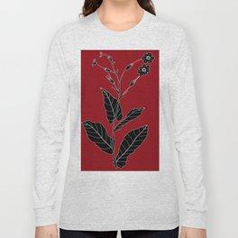 Rock Pituri (Also known as Bone Marrow Tobacco) - Nicotiana gossei Long Sleeve T-shirt