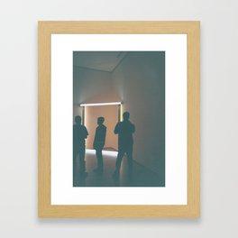 Light n' Dark Framed Art Print