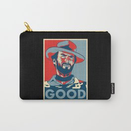 """Clint Eastwood """"Hope"""" Poster Carry-All Pouch"""