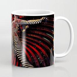 0725-PDJ+NIS Sisters Power Bump Color Abstract Art Zebra Stripe Coffee Mug