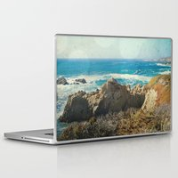 big sur Laptop & iPad Skins featuring Big Sur - Bonafide by Jenndalyn