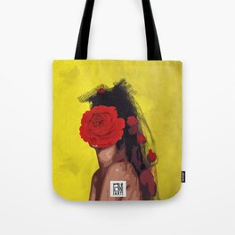queen of Red Roses Tote Bag