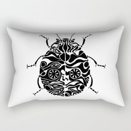 Zebra or crazy ladybug Rectangular Pillow