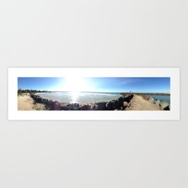 From the Breakwall Art Print