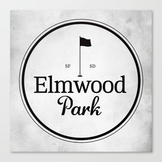 Elmwood Park Canvas Print