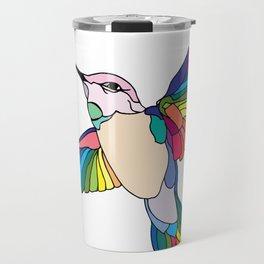 Colorful Humming Travel Mug