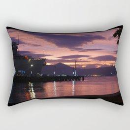 Olongapo Bay, Philippines Rectangular Pillow