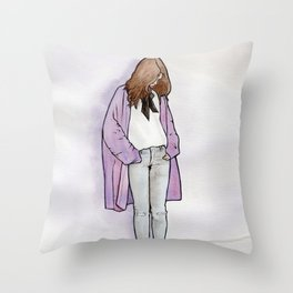 Cozy Cardigan Throw Pillow