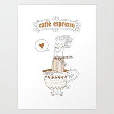 Caffè Espresso Art Print