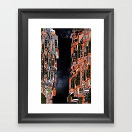 Nepal Apartments Framed Art Print