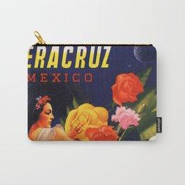 Veracruz Travel Poster Carry-All Pouch