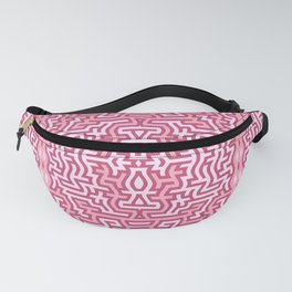 Tribal motif in pink Fanny Pack