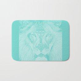 blue lion Bath Mat