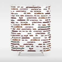 Life's a Game (remix) Shower Curtain