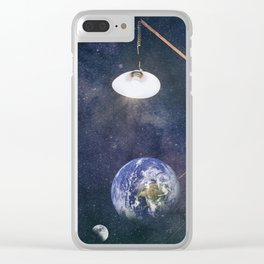 Earth hour Clear iPhone Case