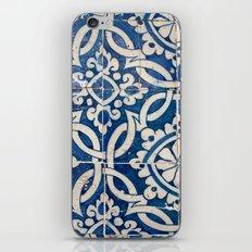 Vintage portuguese azulejo iPhone & iPod Skin