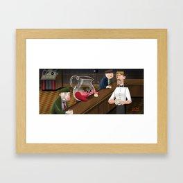 Drink the Kool Aid Framed Art Print